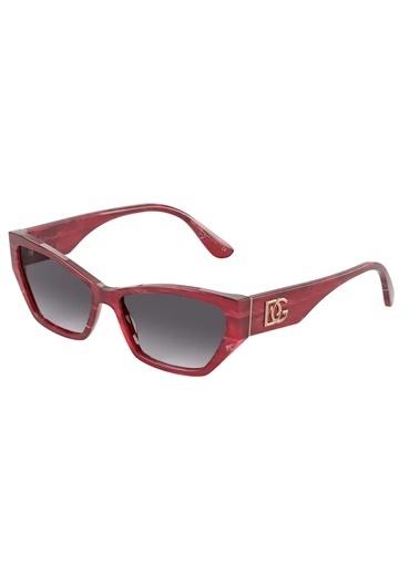 Dolce&Gabbana Dolce & Gabbana 0Dg4375 32528G 58 Ekartman Erkek Güneş Gözlüğü Kırmızı